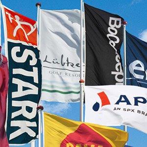 Reklameflag til udendørs markedsføring