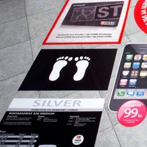 Neopren reklamemåtter med logo print