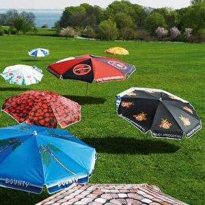 parasol med tryk